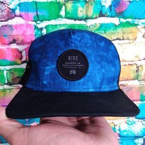 Nike Tie Dye Trucker Style Snapback Hat